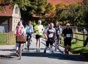 Nachmeldungen zum fast ausgebuchten 2 Ökullus-Lauf sind am 5. und 6. Oktober noch möglich. (Foto: Wasser + Freizeit Münster e.V.)