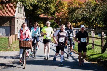 Teilnehmer des 1. Ökullus-Laufs im letzten Jahr. (Foto: Wasser + Freizeit Münster e.V.)