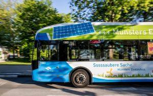 Wie auf der Linie 14 setzen die Stadtwerke auch bei den neuen Bussen auf den Hersteller VDL. (Foto: Stadtwerke Münster)