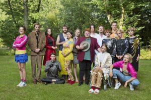 Das Ensemble der SOAP Produktion von Cactus. (Foto: Ralf Emmerich)