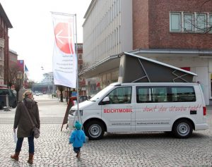 """Das Beichtmobil von """"Kirche in Not"""". (Foto: KIRCHE IN NOT)"""