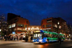 Mit dem Bus zum Weihnachtsmarkt (Foto: Münsterview/ Tronquet)