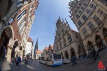 Zum Königsbesuch wird Münsters Gute Stube gesperrt. (FotO: ml)