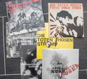 """Auch das Label der """"Toten Hosen"""", JKP, ließ sich nicht lange bitten und stellte streng Limitierte Singles zur Verfügung. (Foto: Tim Hackemack)"""
