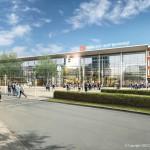 So soll der Neubau Mitte 2016 aussehen. (Foto: DB Station/Service AG I-SBP)