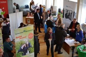 Viele Besucher nutzen die Angebote auf der Jobcentermesse im Stadthaus 2. (Archivbild: Stadt Münster)