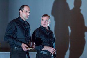 Aurel Bereuter (li.) und Mark Oliver Bögel. (Foto: Oliver Berg)