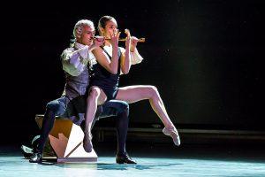 Michael Banzhaf und Giuliana Bottino vom Staatsballett Berlin. (Foto: Sinissey)
