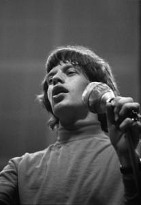 Sänger Mick Jagger. (Foto: Stadt Münster / Stadtmuseum)