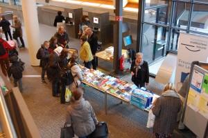 Bücherflohmarkt der Stadtbücherei. (Foto: Stadt Münster)