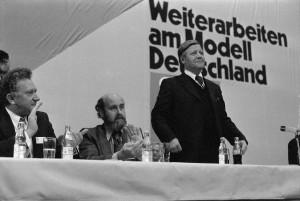Helmut Schmidt 1976 in Münster. (Foto: WN / Rudolf Krause)