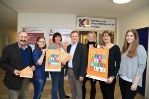 Das Organisationsteam der Auftaktveranstaltung. - (Foto: Presseamt Münster)