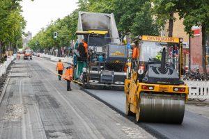Die Pflege der Straßen in Münster hält die Infrastruktur in Schuss und erspart Reparaturkosten. (Foto: Stadt Münster)