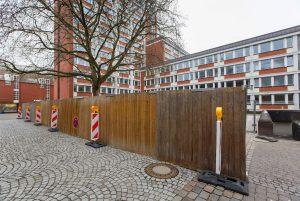 Die Großbaustelle am Stadthaus 1. (Foto: Presseamt Stadt Münster / MünsterView / Witte)