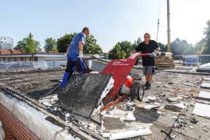 Die Sanierung des Flachdaches steht in den Ferien in der Thomas-Morus-Schule an. (Foto: Presseamt / MünsterView / Witte)