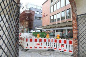 Auf der Salzstraße könnten sich Bombenblindgänger befinden. (Foto: Presseamt Münster)