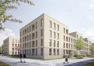 So in etwa werden die neuen Gebäude für das York-Quartier aussehen. (Foto: PDE Deutschland)