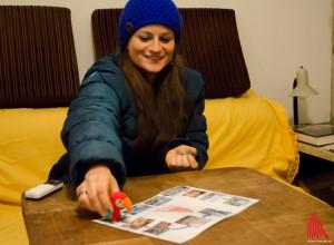 Martje Saljé schlägt sich gut beim Türmerinnen-Quiz. (Foto: th)