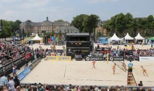 Beachvolleyball: smart beach tour Muenster 2013