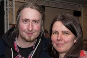 Hartmann mit Freundin Sylvia (Foto: sg)