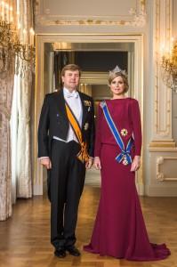 Das niederländische Königspaar
