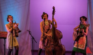 Gefragtes Trio: Zucchini Sistaz aus Münster (Foto: sg)