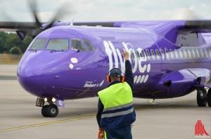 Guter Start für die neue Flugroute (Foto: th)