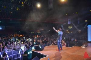Tim Toupet gab bereits im letzten Jahr mächtig Gas auf der Bühne (Foto: th)