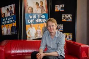 Regisseur, Drehbuchautor und Produzent in einer Person: Ralf Westhoff stellte seinen neuen Kinofilm vor. (Foto: th)
