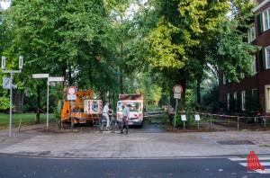 Noch immer sind Teilstücke der Promenade gesperrt. (Foto: th)