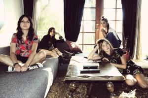 Die Damen der US-Rockband Warpaint kommen nach Münster (Foto: FKP / Promo)