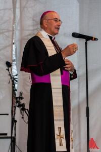 Bischof Genn freut sich auf den Katholikentag 2018 in Münster. (Foto: Bistum Münster)