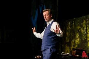 Gute Laune pur gab es am Mittwoch mit dem zaubernden Comedy-Arzt. (Foto: th)