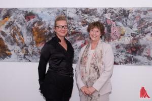 Grit Gerstmann (li.) und Ursula Rüsing. (Foto: cb)