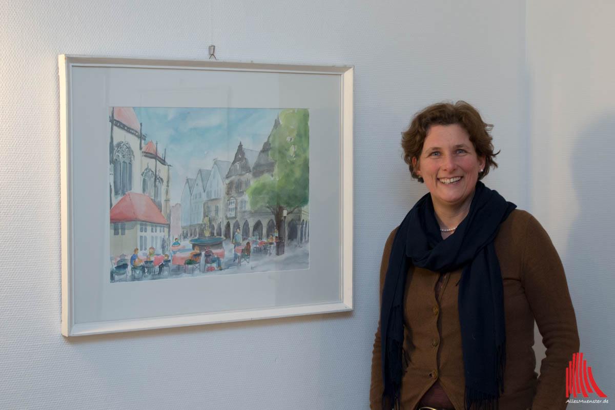 Künstlerin Astrid Biese (Foto: cb)