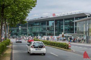 Der neue Hauptbahnhof wird das neue Entrée zur Stadt. (Foto: th)