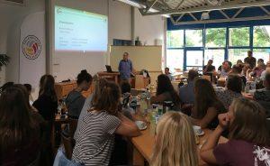 Der Westdeutsche Volleyballverband und der VCO Münster hatten am Wochenende in die Sporthalle Berg Fidel eingeladen. (Foto: Hubert Martens)