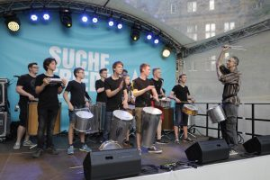 Auf vielen Bühnen sorgten Bands und Gruppen für Stimmung. (Foto: Bischöfliche Pressestelle / Achim Pohl)