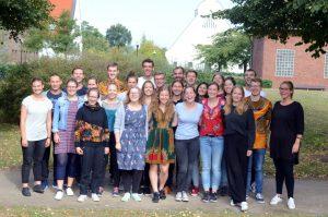 28 junge Erwachsene sind in den vergangenen Wochen von ihrem Auslandsdienst über das Bistum Münster zurückgekehrt. (Foto: Bischöfliche Pressestelle / Ladermann)