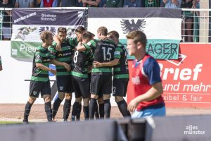 Nächste Woche spielen die Preußen gegen Hansa Rostock. (Foto: Carsten Pöhler)