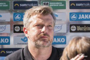 Sven Hübscher, Cheftrainer des SCP, wurde am Sonntag freigestellt. (Archivbild: Carsten Pöhler)