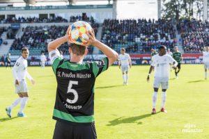 In der kommenden Regionalliga-Saison 2021/22 sollen bis zu 7.500 Besucher das Preußenstadion besuchen dürfen. (Archivbild: Carsten Pöhler)