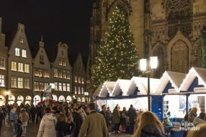 Wie es derzeit aussieht, können die Weihnachtsmärkte in Münster dieses Jahr stattfinden. (Foto: Carsten Pöhler)