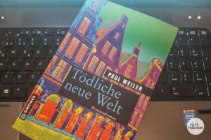 """""""Tödliche neue Welt"""" heißt der neue Münster-Krimi von Paul Weiler. (Foto: Michael Wietholt"""