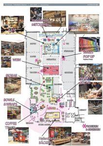 So könnte es im Hafenmarkt aussehen. (Skizze: Stroetmann)