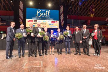 """Der """"Ball des Sports"""" bietet die beste Bühne, um verdiente Sportler und Vereinsaktive auszuzeichnen. (Foto: Carsten Pöhler)"""