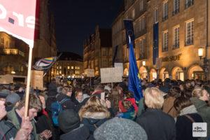 Das neue Versammlungsgesetz NRW soll schärfere Regeln für Teilnehmende von Demonstrationen bringen. (Archivbild: Carsten Pöhler)