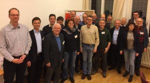 Der Klimabeirat Münster bei einer Sitzung Anfang des Jahres. (Foto: Klimabeirat)