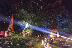 Das Lichterfest im Mühlenhof findet vom 1. bis 3. Oktober 2021 statt. (Archivbild: Carsten Pöhler)