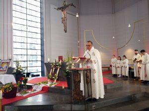 Unzählige Gottesdienste hat Pfarrer Abboud in der Gemeinde der arabisch-sprechenden Christen in Münster gefeiert. (Foto: Gemeinde der arabisch-sprechenden Christen Münster)